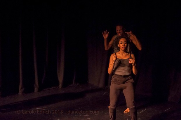 One Youth Dance performing Botis Seva's 'Til Enda', (c) Carole Edrich 2013