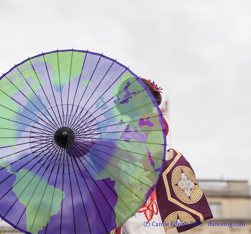 Dancer at Japan Matsuri, Trafalgar Square, (c) Carole Edrich 2013