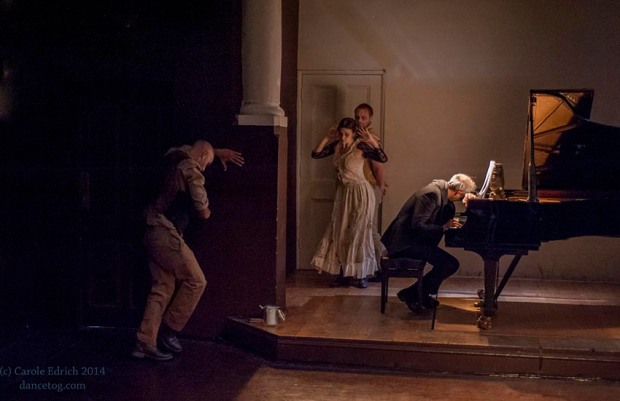 Story of a Night Pianist, choreographed by Anna Buonomo, (c) Carole Edrich 2013