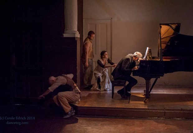 Story of a Night Pianist, choreographed by Anna Bunomo, (c) Carole Edrich 2013