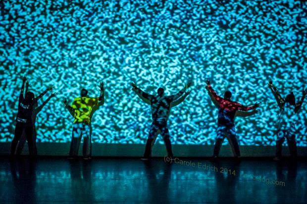 Ivan Blackstock's choreography at the ADAD Bloom Festival 2013, (c) Carole Edrich 2013