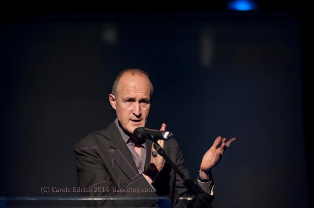 Sir Peter Bazalgette, Chair of Arts Council England at the IdeasTap event, (c) Carole Edrich 2014