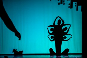Shadowland by Pilobolus Dance Theatre at the Peacock Theatre, (c) Carole Edrich 2014