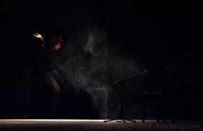 "Angel Munoz performing ""Angel. From White to Black"" at Sadler's Wells Flamenco Festival 2014, (c) Carole Edrich 2014"
