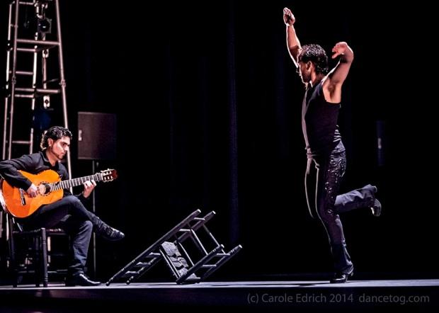 Trasmin, by Belen Maya and Manuel Linan at the Sadler's Wells Flamenco Festival 2014. (c) Carole Edrich 2014