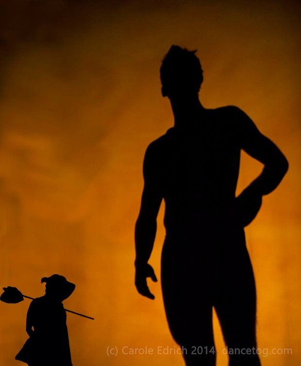 Shadowland by Pilobolus at the Peacock Theatre, (c) Carole Edrich 2014