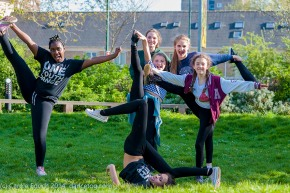 One Youth Dance after thei final rehearsal, (c) Carole Edrich 2014
