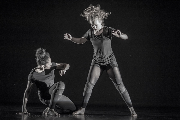 One Youth Dance performing Amaguk in U.Dance London at Trinity Laban, (c) Carole Edrich 2014