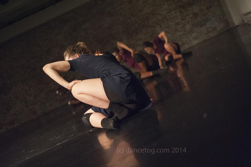 Zamira Kate's Six Years Behind at Moving Words in the Chisenhale Dance Space, (c) Carole Edrich 2014