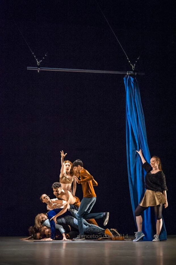 Transitions Dance Company in new bill at Trinity Laban, (c) Carole Edrich 2014