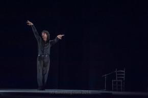 Angel Munoz at Sadler's Wells Flamenco Festival, (c) Carole Edrich 2014