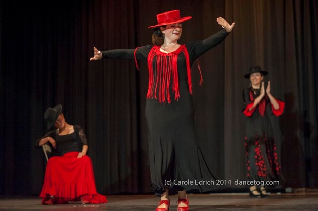 Escuela de Baile students at the Great Ormond Street Children's Hospital Benefit, (c) Carole Edrich 2014