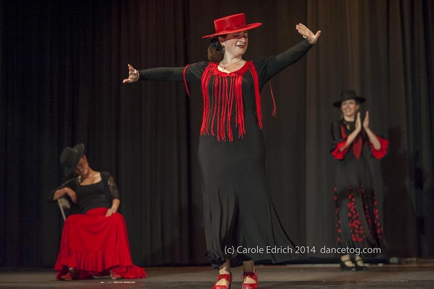 Escuela de Baile students at the Great Ormond Street Children's Hospital Benefit, (c) Carole Edrich 2014