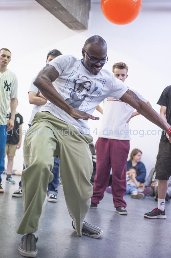 Popin' Pete's Pop Shop, a three day celebration of body popping and hip-hop culture for the whole family at the London Newcastle Space. August 22-24 2014