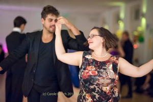 Elizabeth Anderson and Nuno Filipe Pessoa Sabroso dancing socially at the Last Day of Summer Party, (c) Carole Edrich 2014