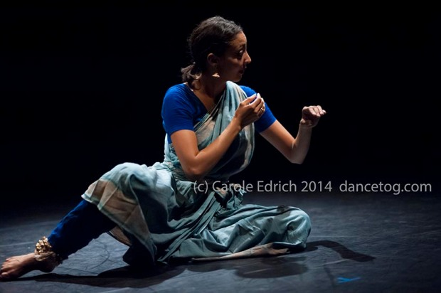 Seeta Patel in Something Then, Something Now at the Lilian Baylis Studio, (c) Carole Edrich 2014