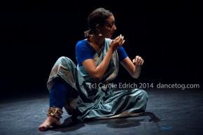 Seeta Patel in Something Then, Something Now at the Lilian Baylis Studio, (c) Carole Edrich 2014