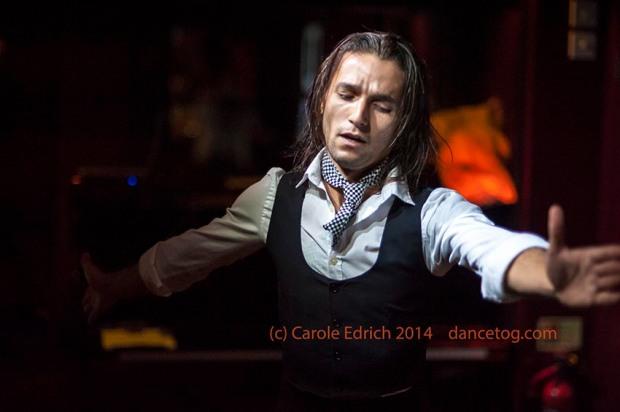 Álvaro Guarnido Muñoz at Espana On Fire, (c) Carole Edrich 2014