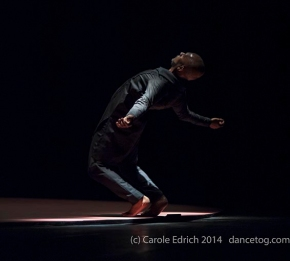 Akram Khan in Torobaka at Sadler's Wells, (c) Carole Edrich 2014