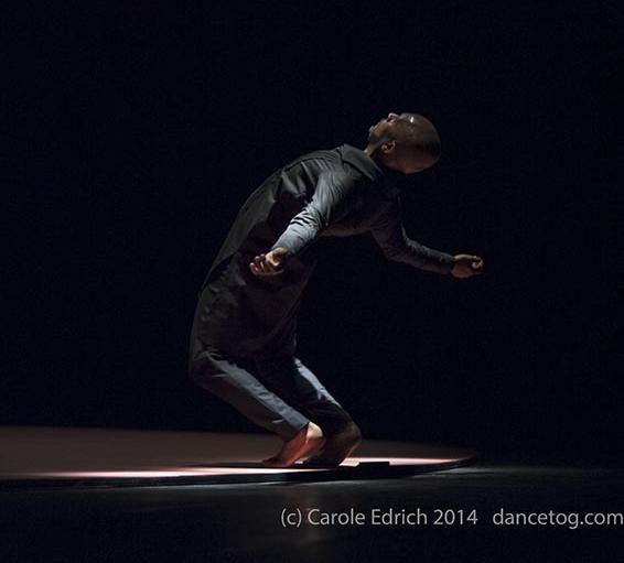 Akram Khan in Torobaka at Sadler's Wells, (c) Carole Edrich 2014