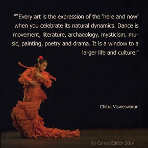 Carmen Cortes and a quote by CHitra Visweswaran