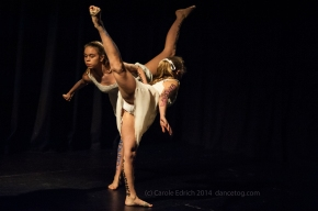 One Youth Dance performance of Uncovered, (c) Carole Edrich 2014