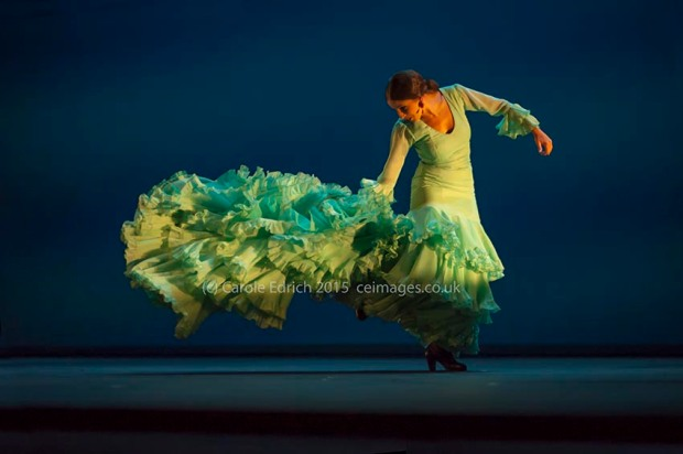 Karime Amaya in Gala Flamenco at Sadler's Wells Flamenco Festival, (c) Carole Edrich 2015
