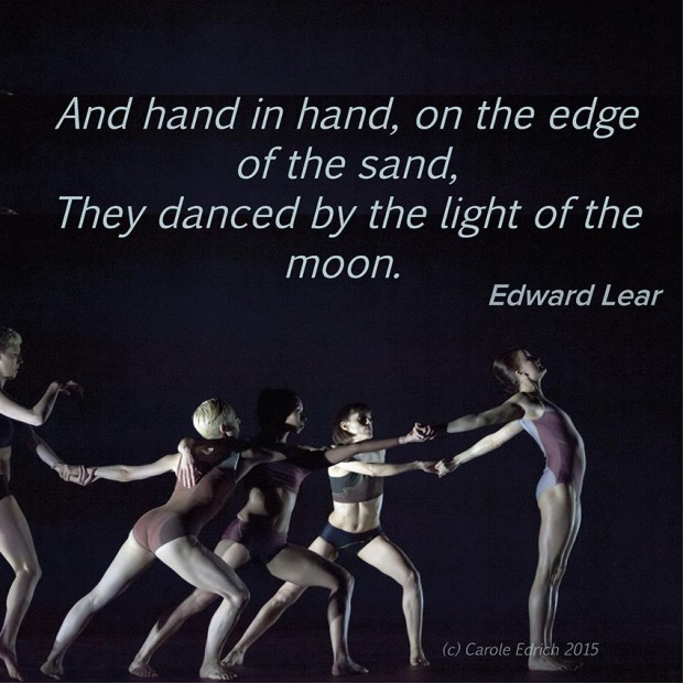 Wayne McGregor | Random dance's ATOMOS and quote by Edward Lear, (c) Carole Edrich 2015