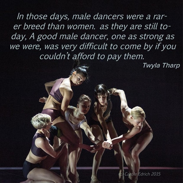 Wayne McGregor | Random dance's ATOMOS and quote by Twyla Tharp, (c) Carole Edrich 2015