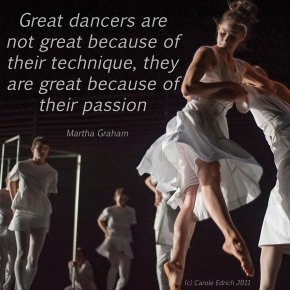 Dancers of Cathy Marsden's Witch-hunt and quote by Martha Graham, (c) Carole Edrich 2011-5
