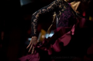 Lourdes Fernandes Menayo at Espana On Fire, Ronnie Scotts London 2015
