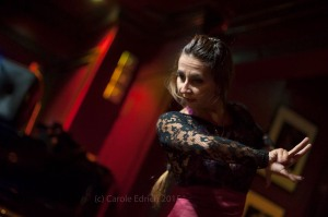 Lourdes Fernandes Menayo at Espana On Fire, Ronnie Scotts London 2015
