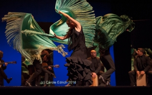 Ballet Flamenco Sara Baras opening the 2016 Sadler's Wells Flamenco Festival.