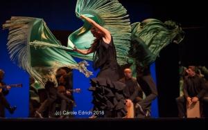 Ballet Flamenco Sara Baras opening the 2016 Sadler's Wells Flamenco Festival.