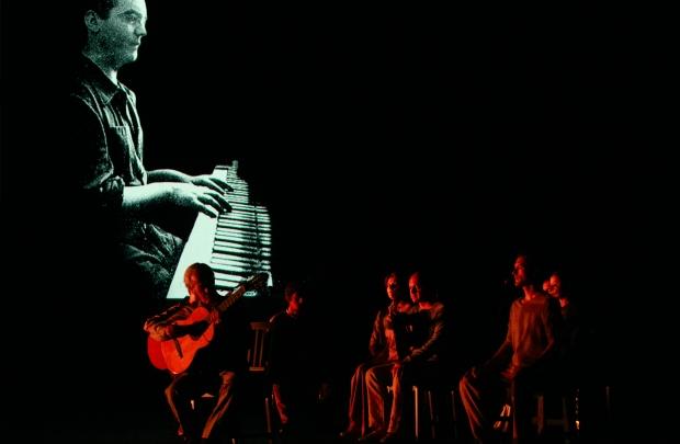Paco Peña's PATRIAS. Photo by Andy Phillipson
