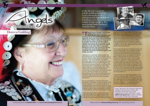 Doreen Golding, Pearly Queen and my third Angel of Wanstead