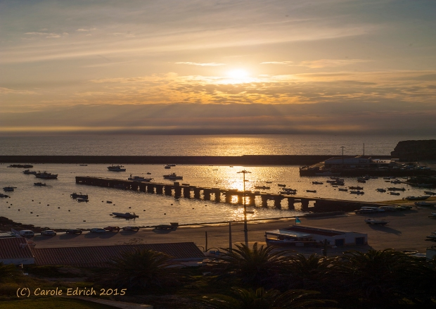 Sunrise and sunset are great learning opportunities. I shot this is the Algarve. (c) Carole Edrich 2015