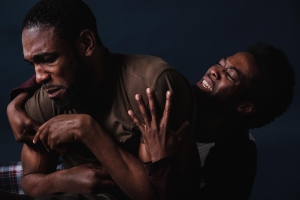 Image of two dancers, credit Josh Tomalin
